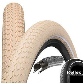 "Continental Ride Cruiser E-25 Wired-on Tire 26"" Reflex creme"